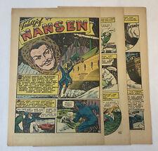1947 five page cartoon story ~ FRIDTJOF NANSEN