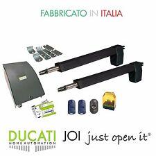 DUCATI HC812-300 kit apri cancello per cancello battente 2 ante 2,5m/250kg cad