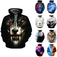 Men 3D Graphic Printed Sweatshirt Women Pullover Hoodie Sweater Jacket Coat Tops