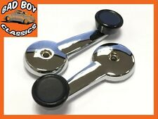 Pair OE Quality Chrome Plated Window Winders Hex Fitting