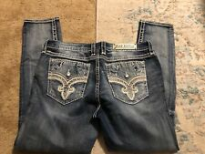 Womens ROCK REVIVAL Laney Skinny Jeans sz 36x32 very sexy jeans..