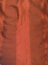 "HIMALAYAN STRIPE SILK INDIAN SUMMER RED 100% SILK FABRIC BY THE YARD 55""W"