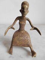 Statuette Fon ASEN Bronze 11cm Art tribal ethnique africain arte africano kunst