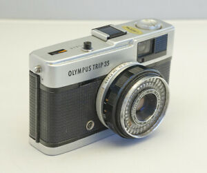 Olympus Trip 35 compact film camera in good working order