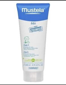 Mustela 2 in 1 Hair and Body Wash - 6.76 oz./200mL