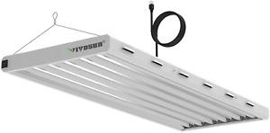 Vivosun 6500K 4Ft T5 Ho Fluorescent Grow Light Fixture For Indoor Plants, Ul Lis