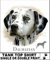 BEAUTIFUL CHAMPION CLASSIC DALMATIAN K9 DOG BREED TANK TOP SHIRT AB709
