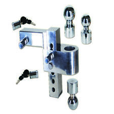 Aluma Tow Adjustable Ball Mount Hitch Trailer Towing Needs for All Vehicle Sizes