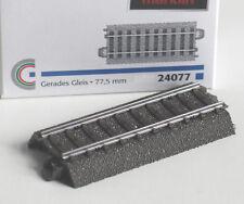 Märklin H0 24077 gerades C-Gleis Länge 77,5 mm Neu