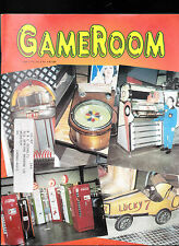 GameRoom Magazine Genco's Metro Pingame Jukebox Signs April 1996