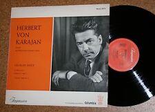LP HERBERT di Karajan Georges Bizet impression columbia MONO 6476