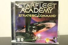 Star Trek: Starfleet Academy -- Strategic Command  (PC, 1997) *Tested/Complete