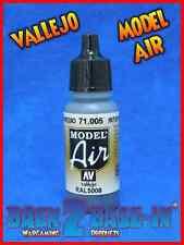 Vallejo Model Air Acrylic Paint 17ml Bottle Intermediate Blue 71005