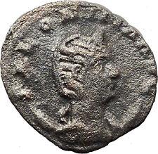 Salonina Valerian I daughter in law  Billon Silver Ancient Roman Coin i30847