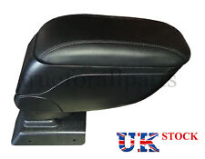New Black Leather Padded Armrest Center Console for model Opel Astra H 2004-13