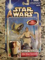 Hasbro Star Wars Attack of the Clones- Obi-Wan Kenobi Coruscant Chase New Sealed