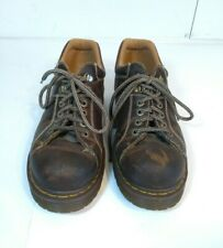 Dr Doc Martens 10940 AirWair Mens Brown Leather Oxfords Shoes US 12 M