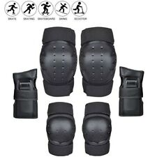 Adults Safety Guards Knee and Elbow Pads with Wrist Guards Protective Gear Set.