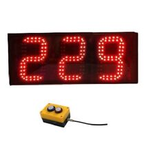 6'' Large Digital 3Digit Laps To Go Timer LED Digital Counter With Buttons