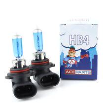 Toyota Corolla E12J HB4 55 W Super Blanco Xenon HID Bajo Dip Haz Headlight Bulbs