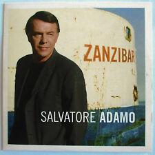 "SALVATORE ADAMO - CD SINGLE PROMO ""ZANZIBAR"""