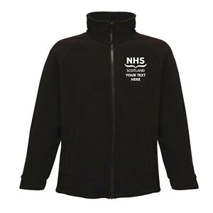 NHS SCOTLAND Personalised* Fleece - Small up to 5XL*
