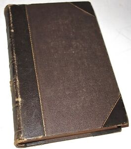 EARLY Antique 1867 PETERSON'S Leather Bound MAGAZINE VOLUME JANUARY-JUNE! NR!