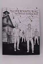 Supernatural The Official Adult Coloring Book Sam Dean Winchester TV Horror Show