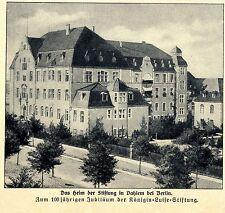 100jähriges Jubiläum der Königin- Luise- Stiftung Heim in Dahlem bei Berlin 1911