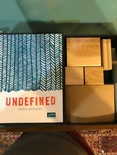 Stampin Up Undefined Stamp Carving Set