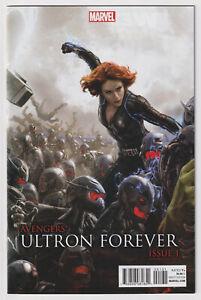 AVENGERS: ULTRON FOREVER #1 | Scarlet Johansson Black Widow 1:25 Variant | NM-