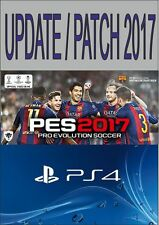 PES 2017 PS4 THE BEST & BIGGEST OPTION FILE - INSTANT, COMPLETE & LATEST- SALE!