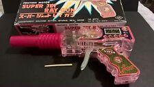 Vintage Yoshida KO Super Jet Ray Gun Friction Motor Japan space toy 1970s Sci Fi