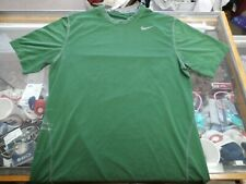 Nike Pro combat  Men's fitted shirt green size Medium short sleeve #31236