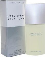 Issey Miyake L' Eau D' Issey 2.5 oz EDT Spray for Men - New in box