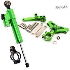 Adjustable Steering Damper&Stabillizer Bracket Kit For Kawasaki ZX14R 2006-2016