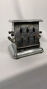 Antique Toaster 1936 Chrome/tin