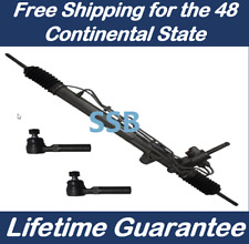 Power Steering Rack and Pinion Assembly for Sportage Tucson +2 New tie rod ends