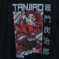 Breath Of Water Demon Slayer Tanjiro And Nezuko Kamado Anime Black T-Shirt