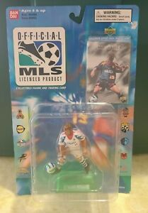 1996 Bandai Official MLS Cobi Jones Figure With Card New In Package #6002