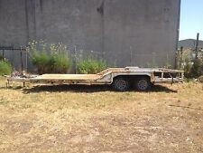 Flatbed Heavy Machinery Trailer