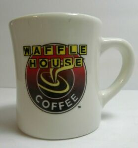 WAFFLE HOUSE Coffee Mug Tuxton Vintage Cafe Diner Advertising Souvenir Cup