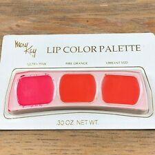Mary Kay Lip Color Palette New Ultra Pink Fire orange vibrant red Sealed