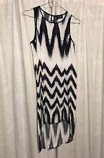 Bardo Junior Dress Size 12 Australia Black & White