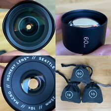 Moment Lenses for iPhone - Wide, Portrait, Macro - O Series (SE,6S,6,5)
