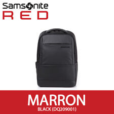 "Samsonite RED 2018 MARRON Backpack 15"" Laptop Tablet 33x46cm Smart Sleeve Black"