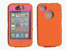 Orange Cases, Covers and Skins for Apple Phones