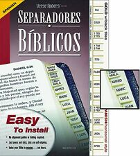 Bible Standard Index Tabs Spanish Version SKU KS169