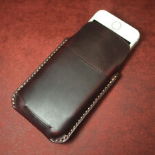 iPhone 5 / 5s / 5c pocket leather pouch case  - Arte di mano -