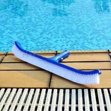 Swimming Pool Spa Algae Cleaning Brush Head Heavy Duty Cleaner Broom Curved Tool